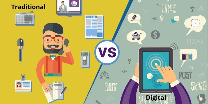 What Is Digital Marketing And Traditional Marketing? - Differences